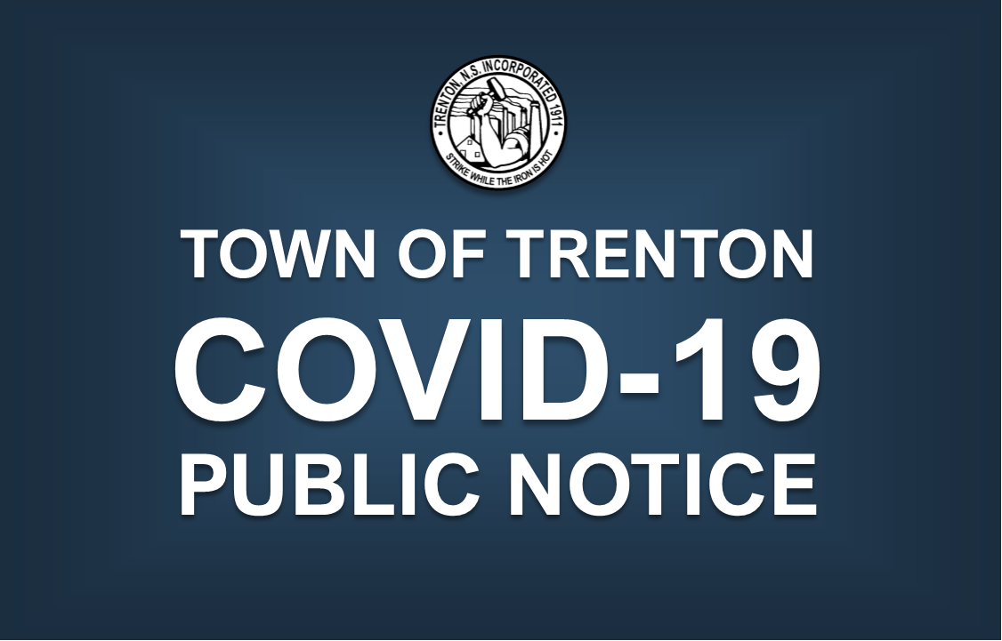 Town of Trenton Public Notice: Re-opening of Town Hall
