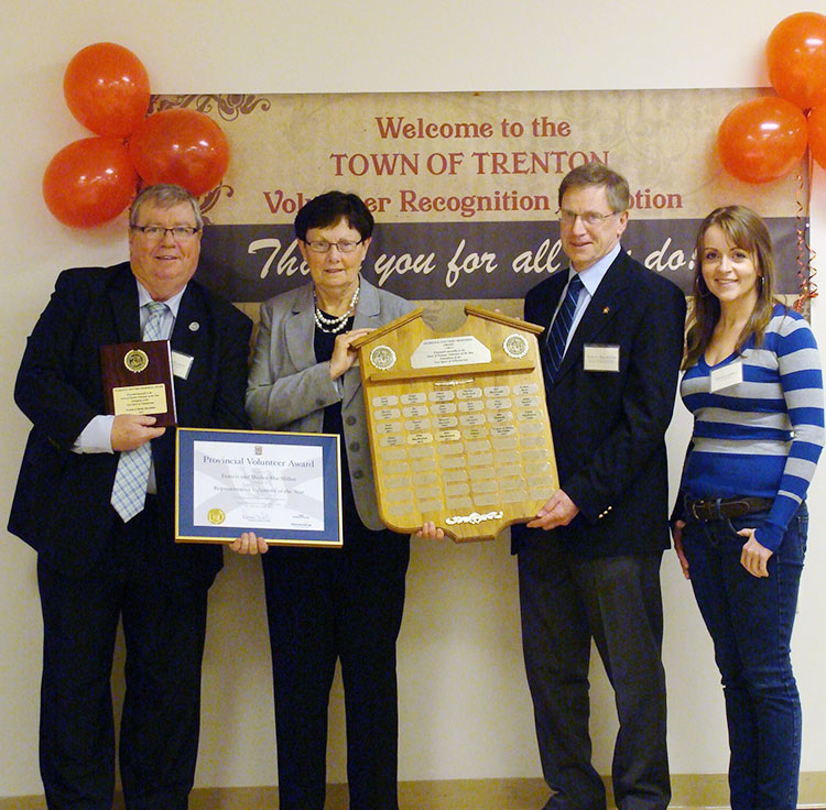 2013 Florence Gouthro Memorial Volunteer of the Year Recipient