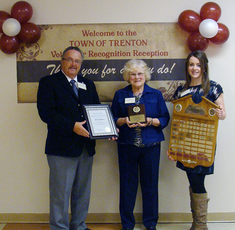 2016 Florence Gouthro Memorial Volunteer of the Year Recipient